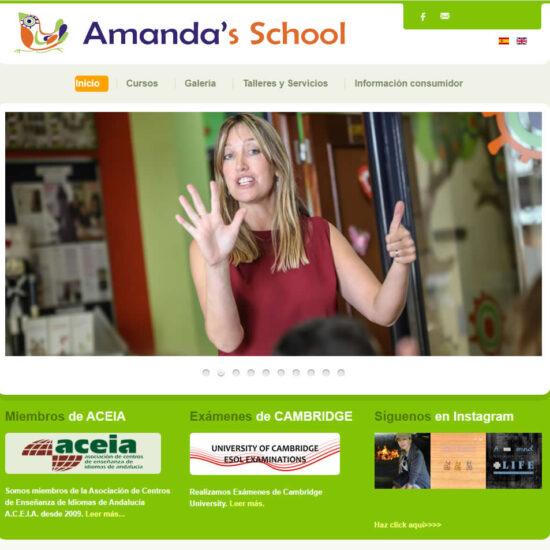 Diseño Web Academia de Idiomas