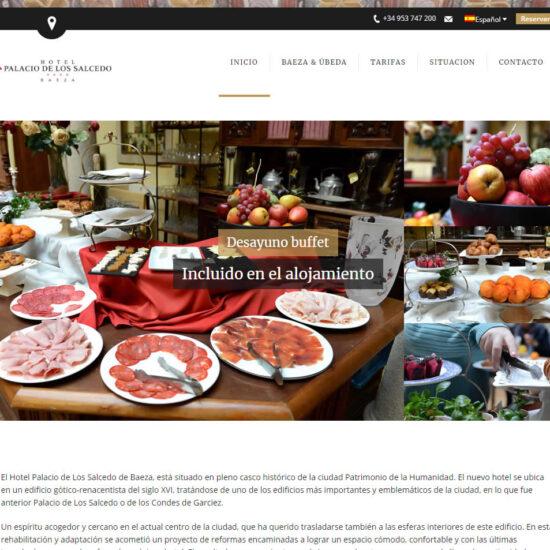 hotel diseño web